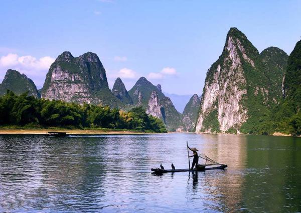 兴坪渔歌——桂林、阳朔、兴坪漓江、遇龙河、银子岩双飞5